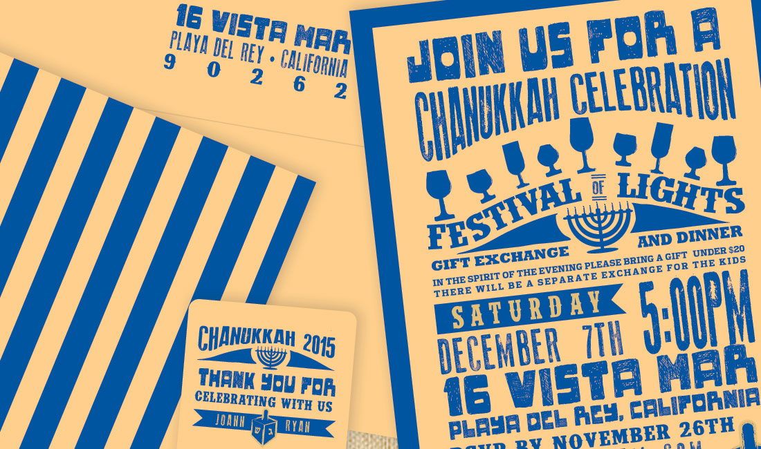 Chanukah Poster Detail