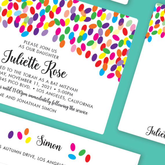Jellybean Invitation Detail