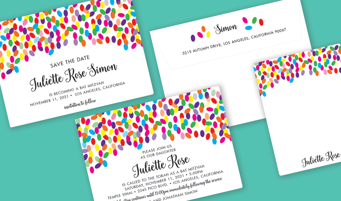 Jellybean Invitation