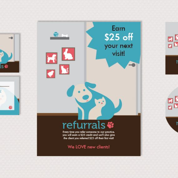 Refurrals Promo Materials