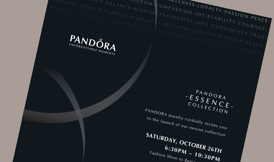 Bumpercards  Pandora Launch Event Invite