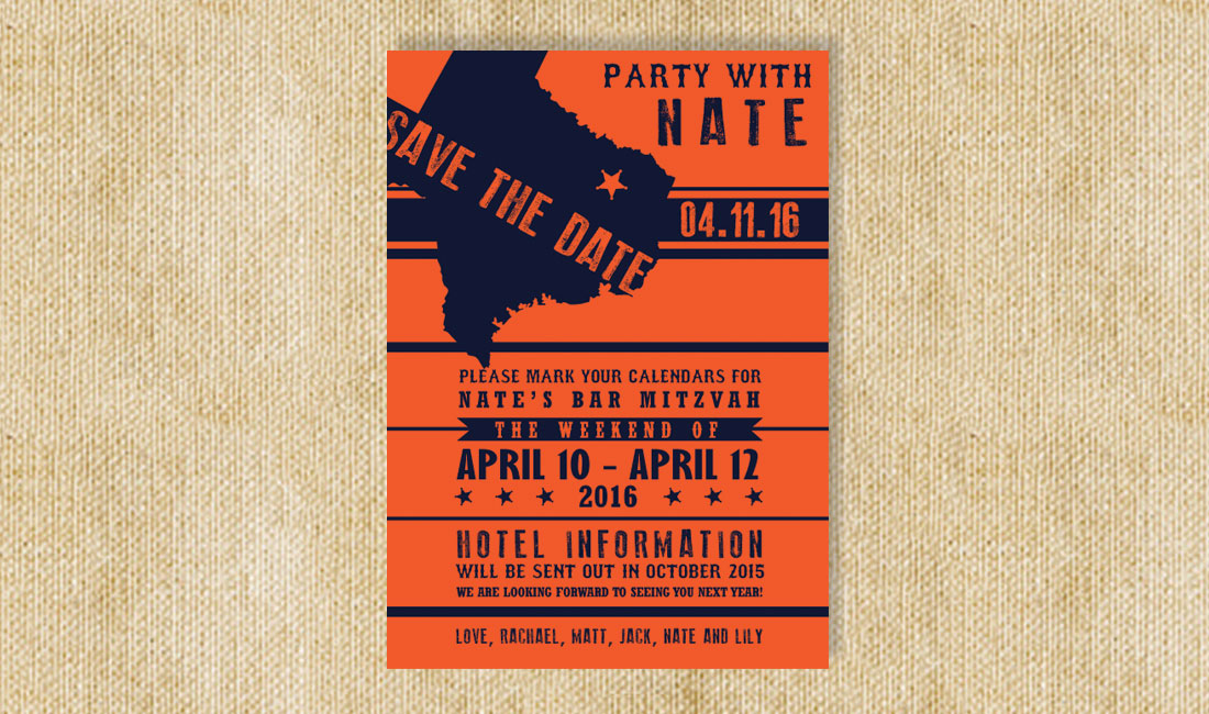 Texas Style Save the Date