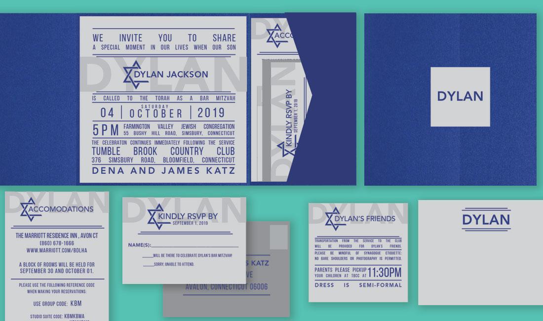 Jewish Star Bar Mitzvah Group