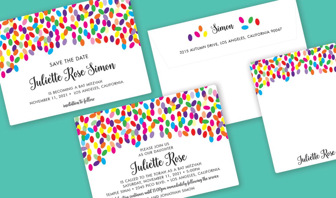 Jellybean Invitation