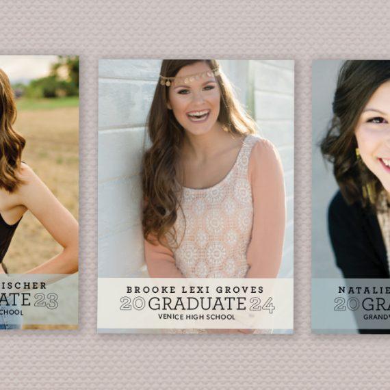 Graduation Photo Announcements